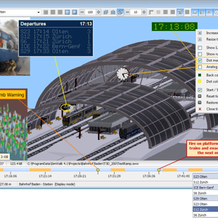 SimWalk 3D Train Station
