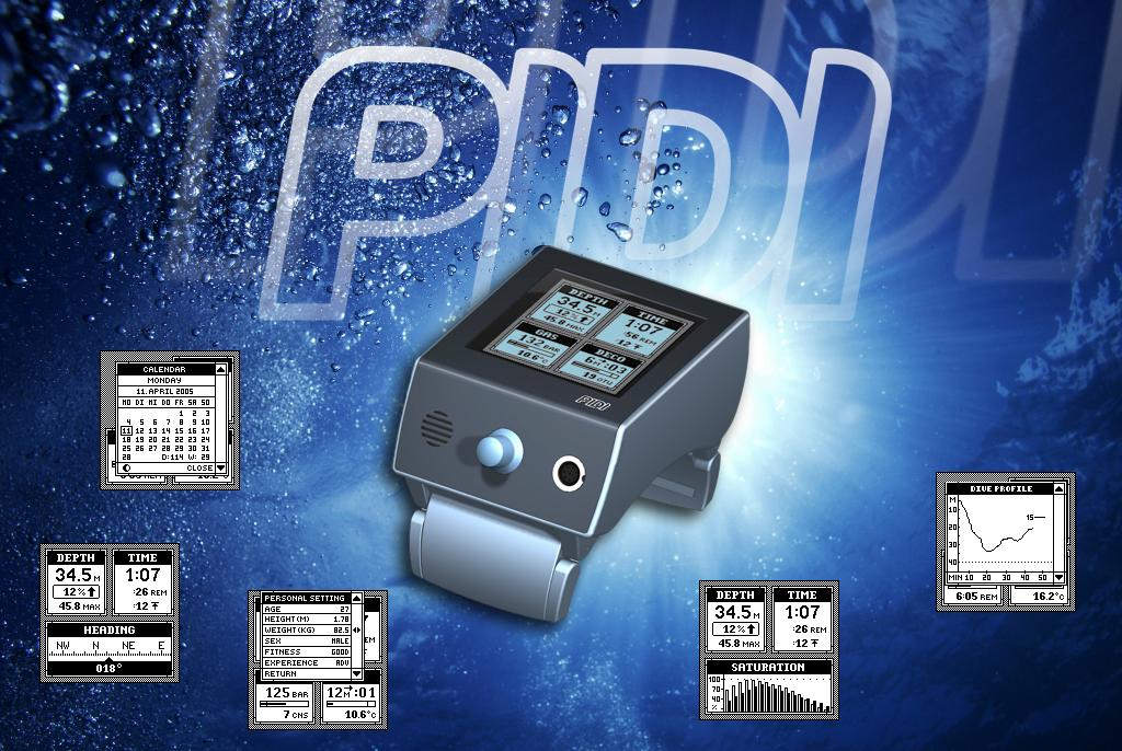 PIDI - Personal Integrated Dive Instrument