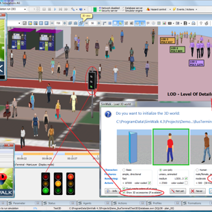 SimWalk 3D Viewer Level of Details