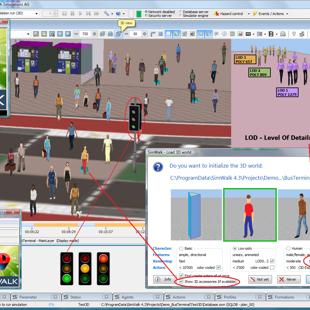 SimWalk 3D Viewer Level of Details