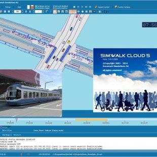 SimWalk Pedestrian Simulation Cloud Integration