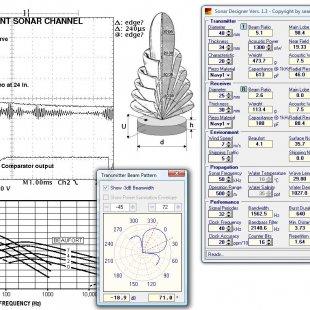 Ultrasonic Sonar Designer Software