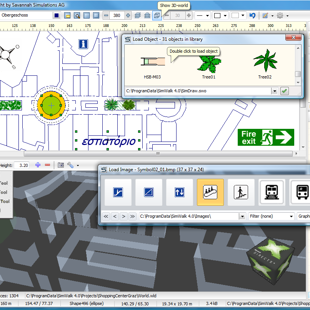 SimWalk Drawing 3D Modeler Renderer