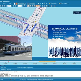 SimWalk Pedestrian Simulation Cloud Integration