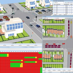 SimWalk RTS Road Traffic Simulator