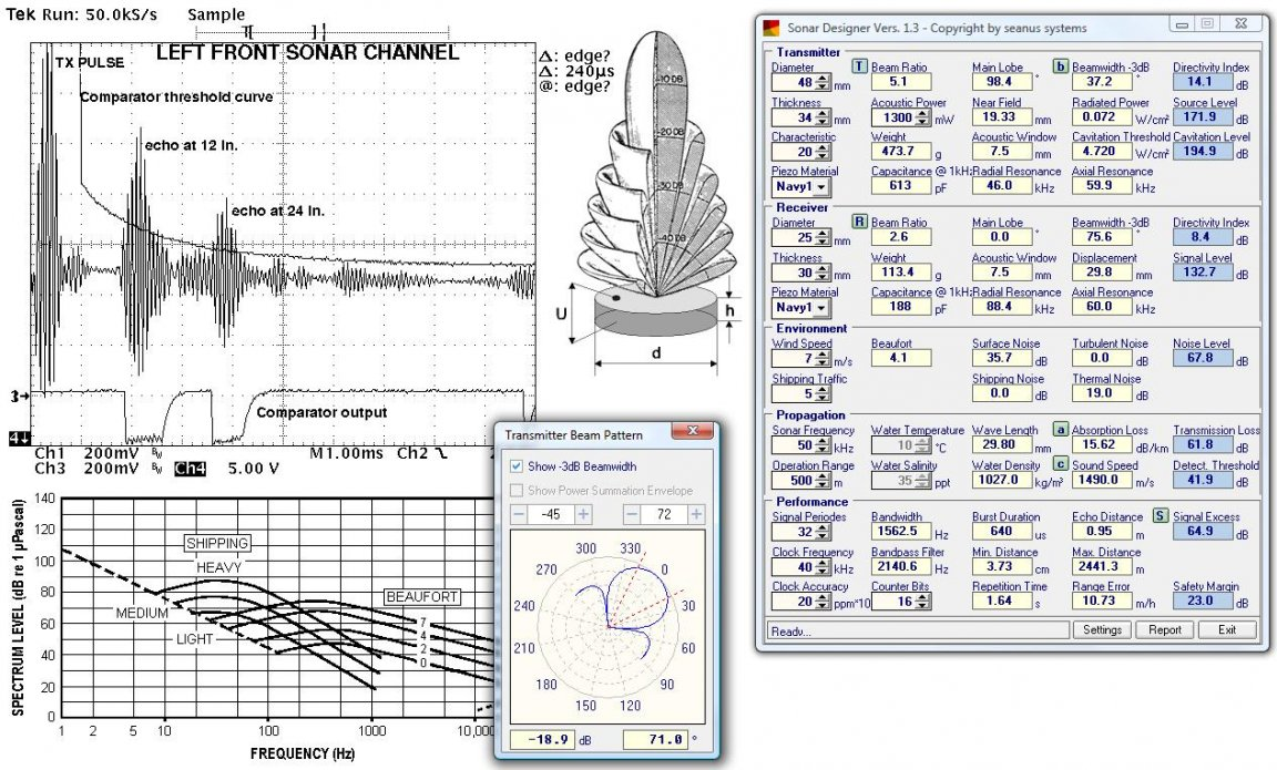 Ultrasonic Sonar Designer Software